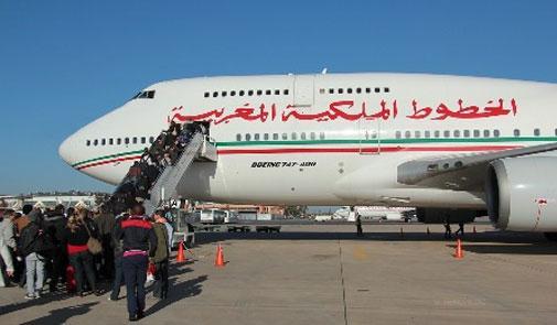 الخطوط الملكية المغربية 8 رحلات أسبوعية بين الدار البيضاء والداخلة