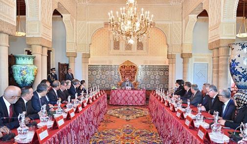 Le Roi Mohammed Vi Preside Un Conseil Des Ministres A Rabat