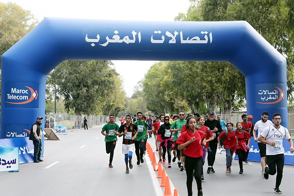 Les images fortes du Marathon International de Rabat