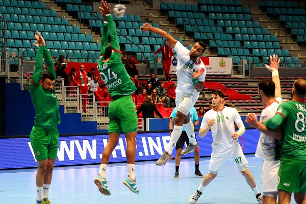Hand-CAN 2020 : Le Maroc s'incline devant l'Algérie à l'issue d'un derby disputé