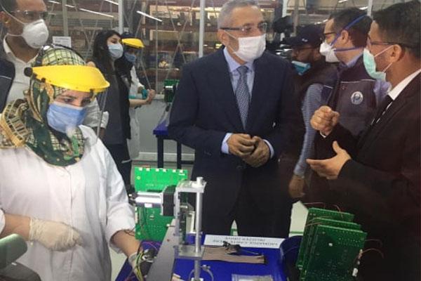 """الدار البيضاء ..وحدة صناعية تتجه لإنتاج أجهزة تنفس اصطناعية موجهة للمصابين ب""""كوفيد19″"""
