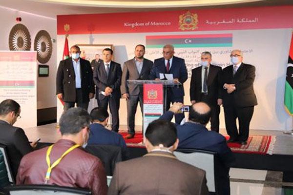 طرفا الحوار الليبي يثمنان دعم صاحب الجلالة الموصول لجهود إنهاء الأزمة الليبية