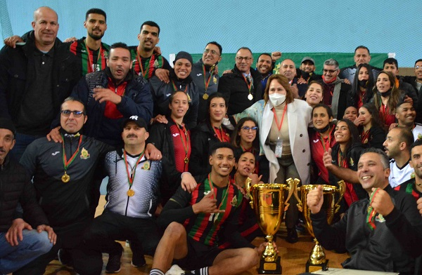 Coupe du Trône de volleyball : Le coup double de l'AS FAR