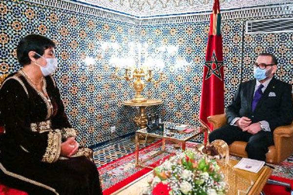 الملك محمد السادس يُعيّن زينب العدوي رئيسة للمجلس الأعلى للحسابات